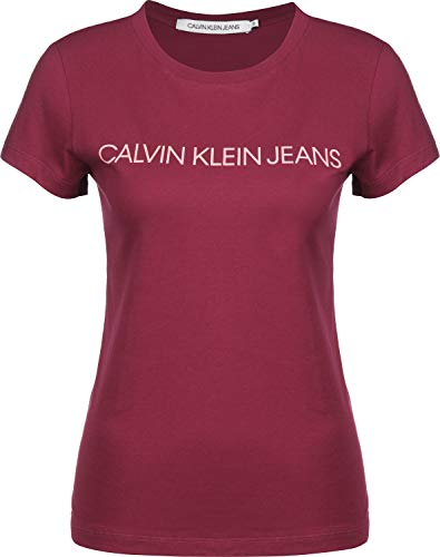 Calvin Klein Jeans Institutional Logo W T-Shirt Beet Red/Blossom