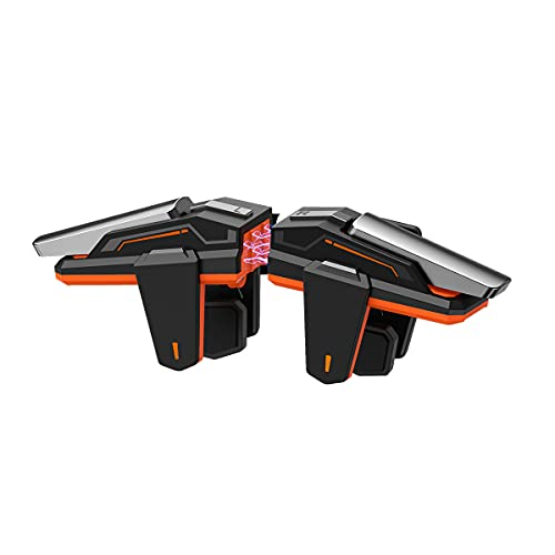 Disparadores de juegos móviles, BIGBIG WON M2, PUBG / FORTNITE / RULES / COD Controladores de juegos móviles 0 Delay \ Mechanical Feel \ Metal Texture para teléfonos IOS y Android
