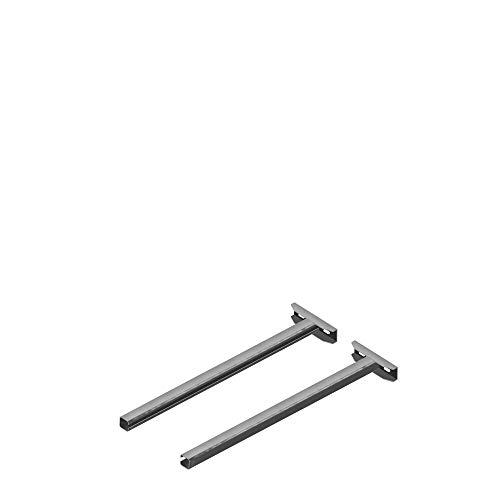 Universal Wandhalter Verlängerungen bis 750mm für doppelwandige Schornsteine im Paar geliefert für alle gängigen Systeme Edelstahl zu standard Wandhalter 50mm