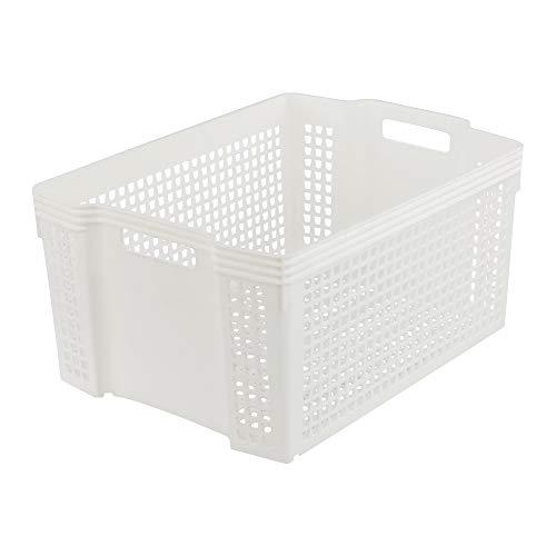 cesta mimbre baño de la marca Ucake