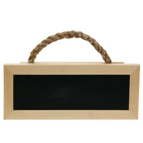 HOQ Türschild / Namensschild für Spielgeräte, Spieltürme, Stelzenhäuser und Kinderzimmer. Mini Tafel mit Aufhängeseil