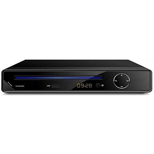 Kompakt DVD-Player Alle Region frei Multimedia Digital Player ( 720p, USB - Festplatte/ HDMI, LED Display, mit Full Function Remote ) - schwarz