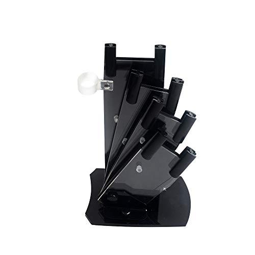 Les Blocs VIDES Couteau Universel, Cadre En Métal Structure De Ventilation De La Conception à L'Est Facile Nettoyer, à Découper Pot Planches Couvercle Rack Organisateur (14 * * 21 Cm 14,5)