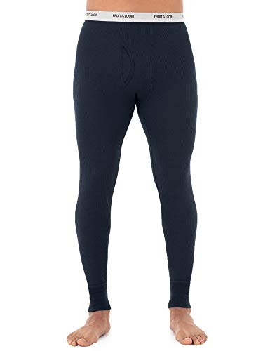 Fruit of the Loom Men's Midweight Waffle Thermal Underwear Bottoms (5X-Large Navy) $4.00 - Amazon