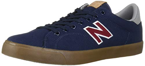 New Balance Men's All Coasts 210 V1 Sneaker, Navy/Red, 9.5 D US