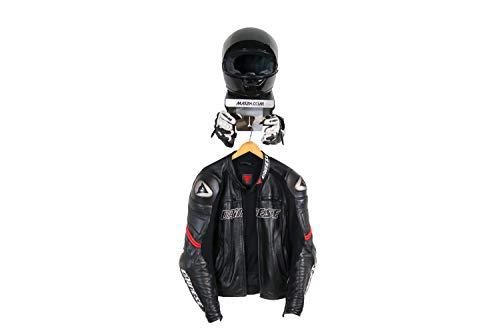 MAX2H.COM EVOSPACE Helmhalterung, Helmhalter Wand, einfache Montage