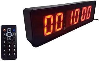 Cronometro Relogio Parede Digital Led para Academia 32cm Garantia:90 dias;Modelo:RF-31211;