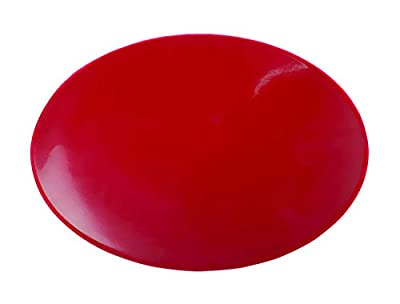 """Dycem Non-Slip Mat, Ideal Daily Living Aid for Independent Living and Caregivers, Designed to Address Stabilization and Gripping Problems Found Around The Home, Red Pad 8-1/2"""" Diameter x 1/8"""" by Dycem"""