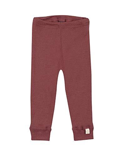 Dilling Merino Leggings für Babys - 100% Bio Babykleidung Rouge 62