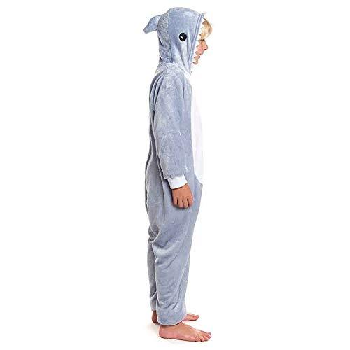 Disfraz Pijama Tiburón Infantil Unisex 10-12 años