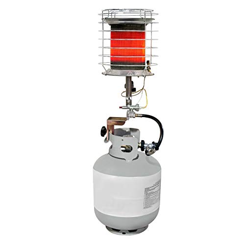 Best Buy! Dyna-Glo TT360DG 40000 Liquid Propane 360-Degree Tank Top Heater (Renewed)