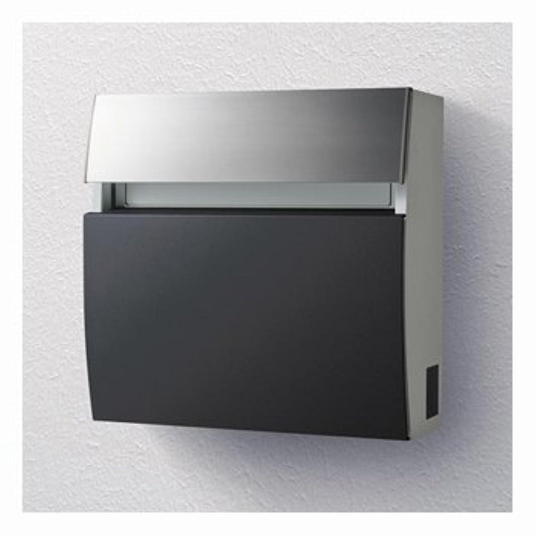 パナソニック製おしゃれ郵便ポスト フェイサスラウンドCTC2203TB(鋳鉄ブラック) メールボックス
