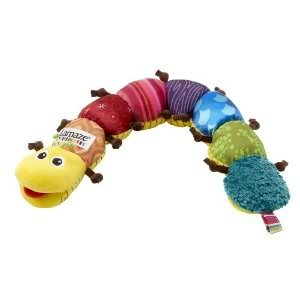 Amazing Lamaze Musical Inchworm with Super Fun Rattles, Squeaks, Crinkles And Jingles for Babies Jouets, Jeux, Enfant, Peu, Nourrisson