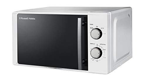 Russell Hobbs RHM2060 Manual Microwave, 20 Litre, 800W Power, 5 Power Levels White