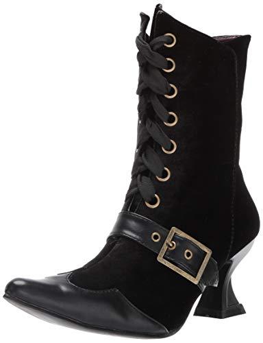 Ellie Shoes Women's 301-TABBY Mid Calf Boot, Black, 8 M US