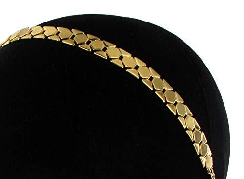 Les Dissonances Gypsy: Headband Chaine Or et métal doré à l'or Fin