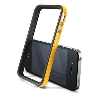 SGP iPhone 4 / 4S Case Cover Custodia Neo Hybrid 2S Vivid Series Yellow
