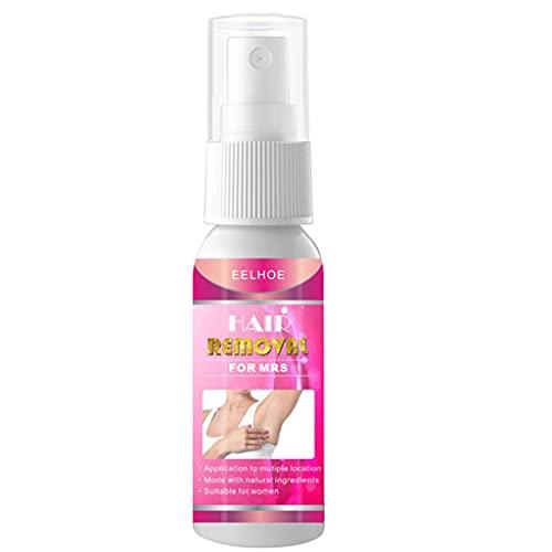 zrshygs Depilación para Mujeres - Potente Spray depilatorio de 20/50 ml para Mujeres/Hombres Barba Depilatoria Cabello indoloro Bikini Brazo Piernas Axila Viajes al Aire Libre
