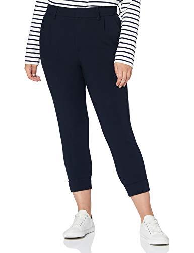 True Religion Damen Wool Pleat Pant Hose, Navy, 25