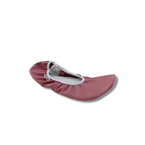 Botas Tanz- & Ballerinas Gymnastikschuhe aus Naturleder für Damen und Mädchen, Pink (Ballerinas - Pink), 40 EU