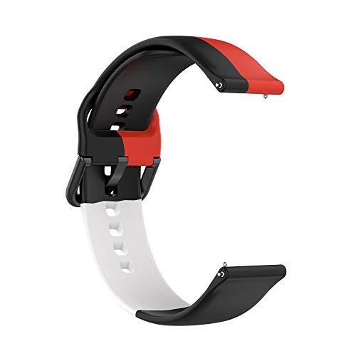 Correas de Reloj,3 Colores Correa para Fitbit Versa 2,Bandas Correa Repuesto,Flexible Silicona Reloj Recambio Brazalete Watch Correa Repuesto para Fitbit Versa 2/Versa /Versa lite/Blaze (color 3)