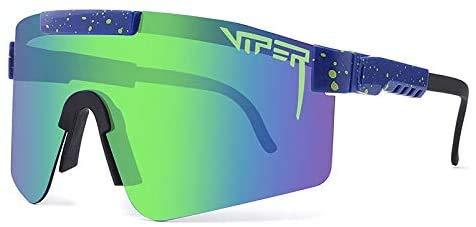 Pit Vipers UV400 - Gafas de sol polarizadas para conducir, correr, pesca, senderismo, golf, al aire libre, para hombres y mujeres (G12)