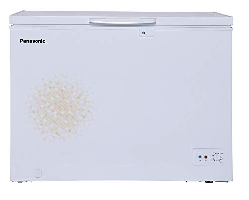 Panasonic 290 L Single Door Deep Freezer (SCR-CH300H1B,White,Convertible)