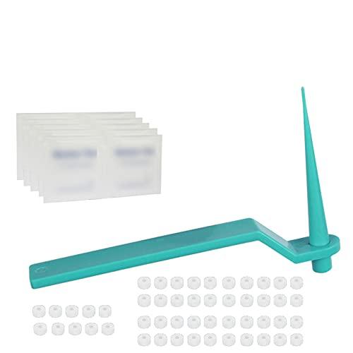 Skin Tag Remover Skin Tag Removal Kit 50 Stück Warzenentferner Micro Band zum Entfernen von kleinen bis mittleren (2 mm bis 4 mm) großen Hautmarken schmerzfrei