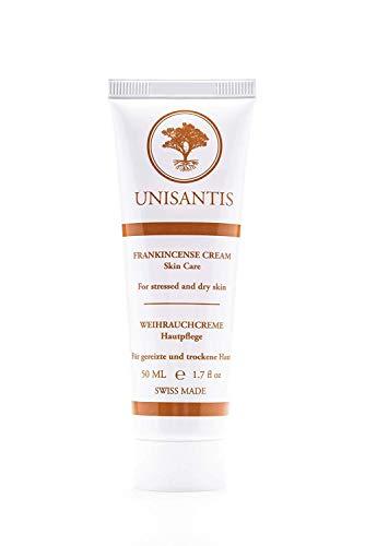 Unisantis Weihrauch-Creme: Salbe zur therapiebegleitenden Pflege bei Schuppenflechte (Psoriasis), Ekzemen, Neurodermitis (Dermatitis) und sensibler Haut