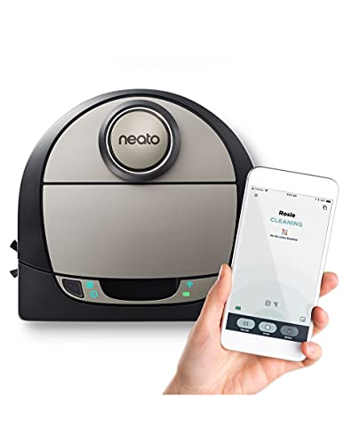 Neato Robotics 945-0270 Botvac Connected D7 Wi-Fi Enabled Robot Vacuum, Gray