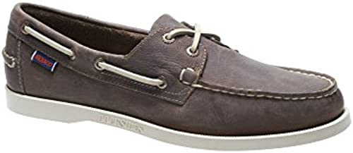 Sebago Men& 039;s Docksides Leather Dark schuhe