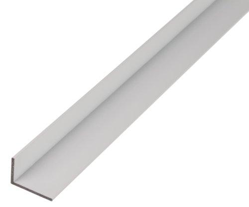 GAH-Alberts 473785 Winkelprofil | Aluminium, silberfarbig eloxiert | 1000 x 50 x 30 mm