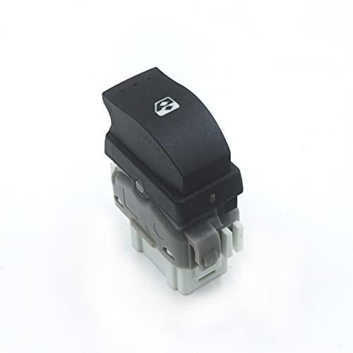 Interruptor de Ventana de Coche para Renault Megane 2 Scenic 2 Laguna 2 Espace 4, Unidad de Interruptor de regulador de Ventana Botón de Interruptor de Ventana de energía Trasera OEM 8200315024