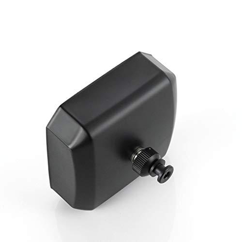 Hilo de Tender retráctil Cubierta retráctil for tender la ropa con ajustable de acero inoxidable línea de secado de lavandería Habitación Baño montado en la pared 12.5 pies, 20 kg de rodamiento-Negro