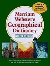 Merriam-Webster's Geographical Dictionary 3th (third) edition