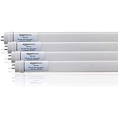 AmazonBasics LED Tube Light - DLC Certified