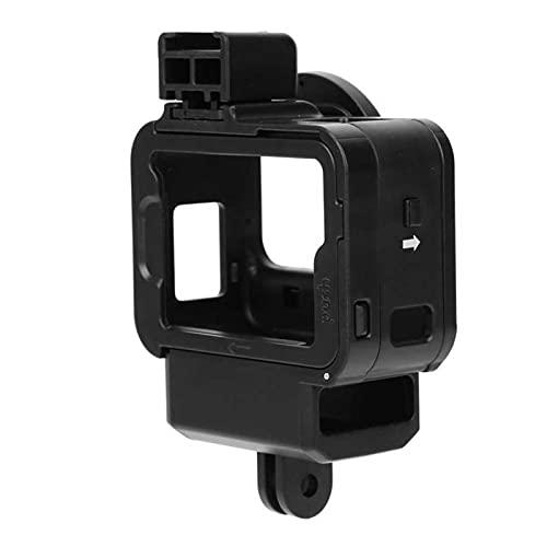 para G8-9 Cámara Deportiva Frame de protección contra jaulas Funda Vlog Facilitadora de batería Adaptador de micrófono de 52 mm Anillo de Adaptador de Filtro para GOPRO 8 Cámara de acción
