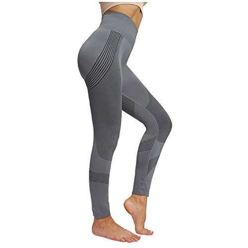 Rosennie Damen Leggings Lange Yogahose Sporthose Fitnesshose Laufhose Damen Frauen Jogginghose Jeggings, Stretch und Hohe Taill Hose Freizeithose Leichte Atmungsaktiv für Work Out