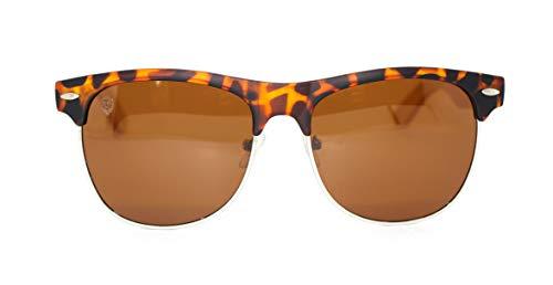 Óculos de Sol de Acetato com Bambu Masseria Turtle, MafiawooD