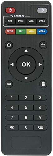 Télécommande de Remplacement pour MXQ Android TV Box MXQ Pro MXQ-Pro MXQ-4K RK3229 MX9 M8 M8C M8N M8S M9C M9C-4K M9C-Mini M10 T95 T95M T95N T95X T95-S1 T95-S2 H96 H96-Pro H96 Pro+ X96 X96-MINI