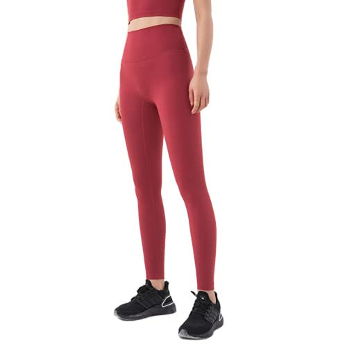 QTJY Pantalones de Yoga Delgados sexys para Mujer, Push-ups, Celulitis, Fitness, Cintura Alta, Levantamiento de Cadera, Pantalones Deportivos, Pantalones para Correr al Aire Libre, K M