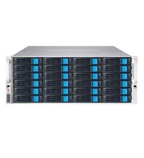 Sans Digital NAS EN436L12 4U 36Bay 4 NIC 12G SAS / 6G SATA Hardware RAID 6 NAS+iSCSI Rackmount Server Retail