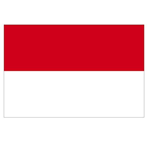 Supstick Indonesien Fahne Aufkleber 18 x 12 cm