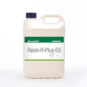 Resina Puente de Unión Resin R Plus – 55 Durcaplast .Resina transparente en base acuosa usada en construcción como puente de unión de tabiquería (20L)