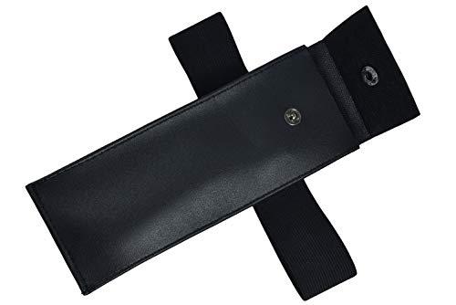DAZCOS Three Sizes Black Kunai Cosplay Bag for Anime Costume (Large_11 inches)