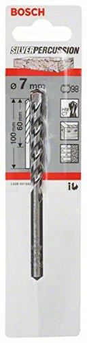 Bosch 2608597662 CYL-3 Concrete Drill Bit, 7mm x 60mm x 100mm, Silver