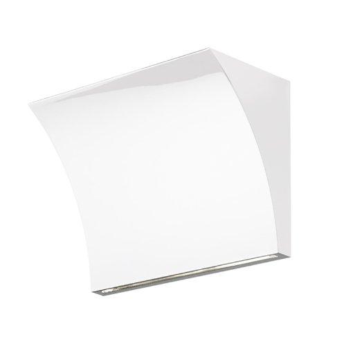 Flos – Pochette Up/Down – Blanc Brillant – Rodolfo Dordoni – Applique – Applique Murale – Salon Design