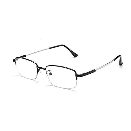 Smart Zoom Lesebrille - Fern- und Nahgebrauch ,Anti-Blaulicht, Progressive Multifokus-Lesebrille Far and Near Optische Outdoor-Brillen mit doppeltem Verwendungszweck Memory Titan Rahmen