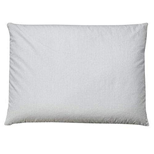Sobakawa Traditional Buckwheat Queen Size Pillow Organic Cotton with Natural Technology for Cool Sleep, Neck Support for Back and Side Sleepers or as a Meditation Cushion, Updated
