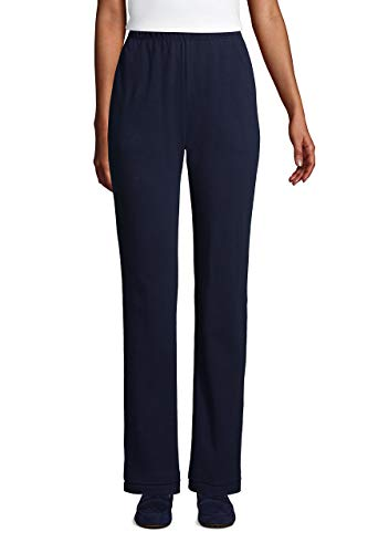 Lands' End Women s Sport Knit Pants Radiant Navy Petite Medium
